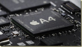 Apple A4 processor iPad and iPhone 4