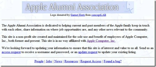 Apple Alumni Association