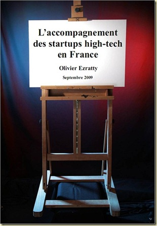 Couverture Guide Accompagnement Startups High-tech en France Olivier Ezratty Septembre 2009