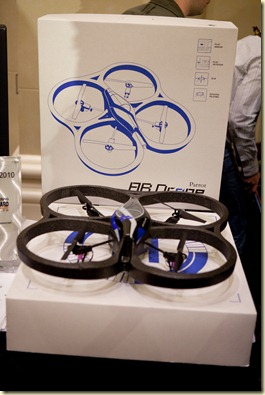 Parrot AD-Drone shown at the CES Unveiled Jan2010 (8)