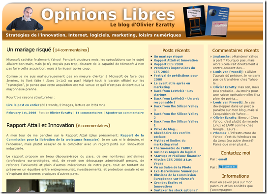 Look Opinions Libres 2007