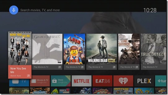 Android TV Overlay