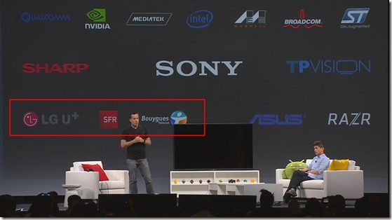 Android TV Partners