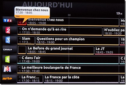 Grille de programme Freebox TV Jun2014