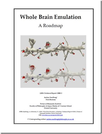 Whole Brain Emulation book