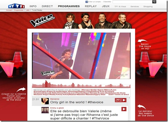 TweetReplay The Voice