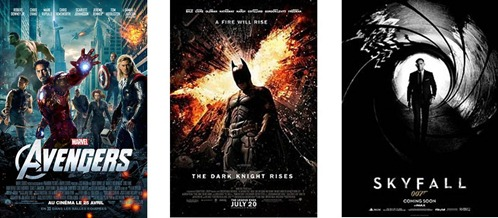 The Avengers Batman Rises Skyfall