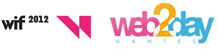 WIF and Web2Day logos