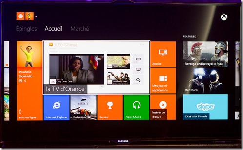 Orange TV sur XBOX One (1)