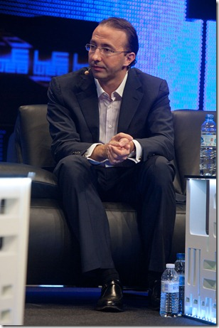 Alexander Tamas from DST International @ LeWeb 2010