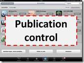 Death of web - Publication control