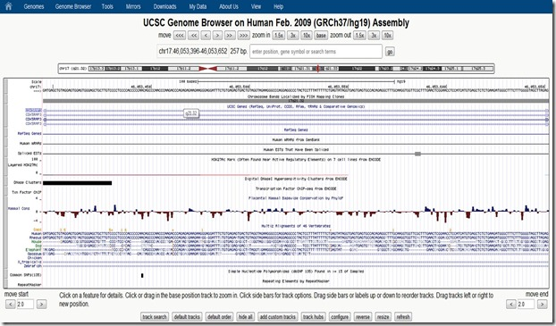 UCSC genome browser 4