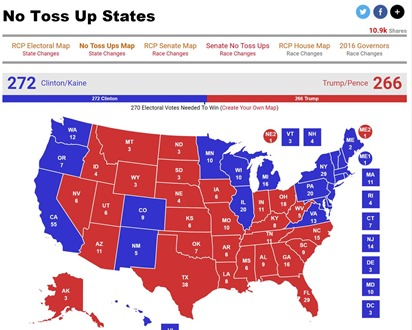 RealClearPolitics No Toss Up