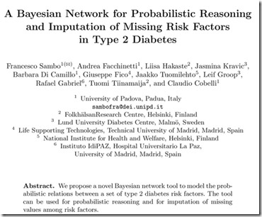 Bayesian And Diabetes 2