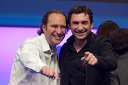 Xavier Niel and Jean-David Blanc @ LeWeb2010 (1)