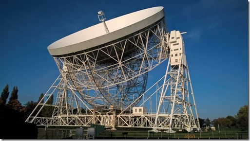 Jodrell Bank radio-telescope