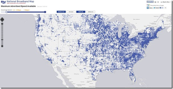 USA National Broadband Map