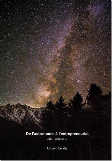 Astronomie entrepreunariat ebook cover