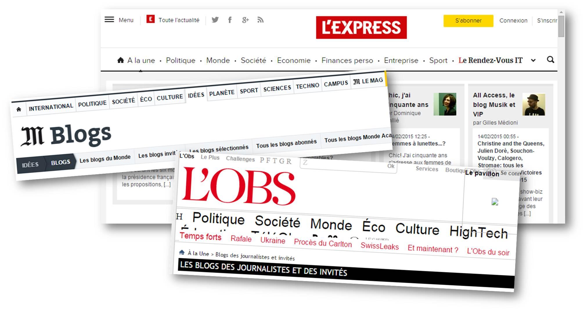 Blogs de medias