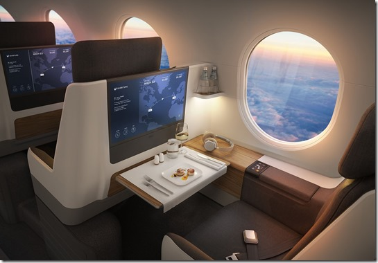 Boom Supersonic Business Class