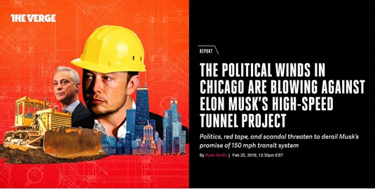 Boring Company a Chicago