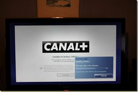 Canal  dans Windows Media Center (3)