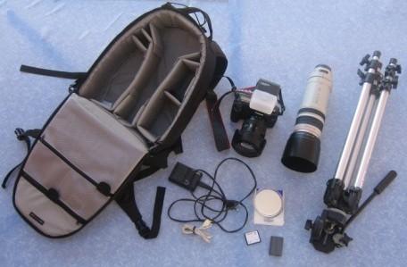 Canon EOS 5D et ses accessoires