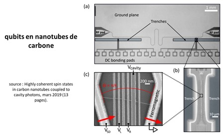 Carbon nanotubes qubits
