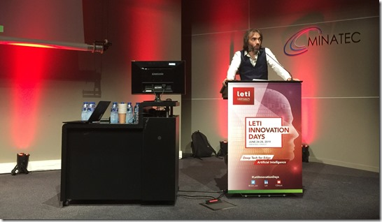 Cédric Villani Leti Innovation Days Quantum Workshop 2