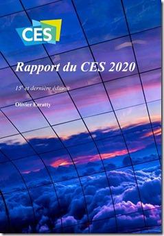 Couverture Rapport CES 2020