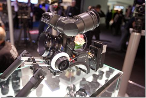 Epaulière pour Canon 5D II