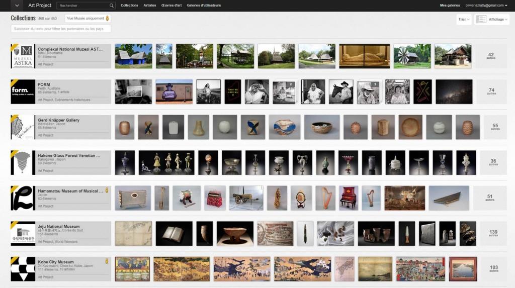 Google Art Museums