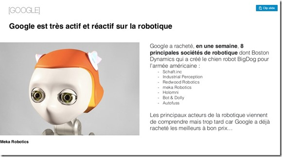 Google et robotique