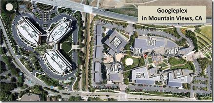 Googleplex Mountain Views CA