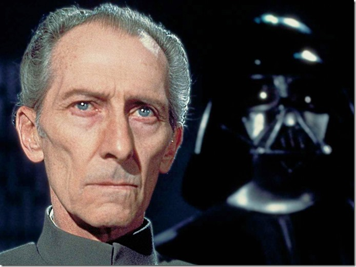 Grand Moff Tarkin in Rogue One