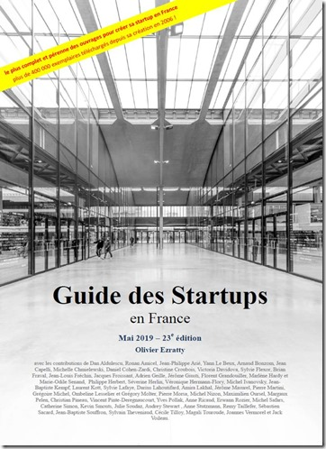 Guide des startups 2019 cover