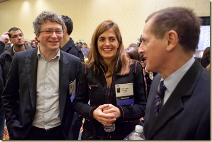 Henri Seydoux from Parrot and Gary Shapiro from CEA Jan2010