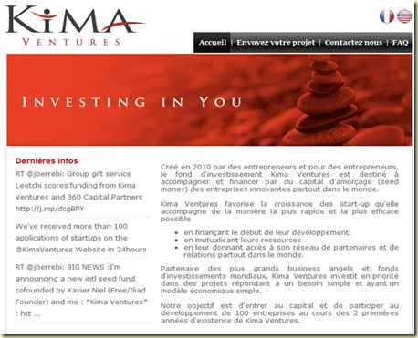Home Page Kima Ventures
