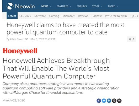 Honewell Announcement