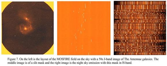 Keck1 MOSFIRE multiobjects spectrometer