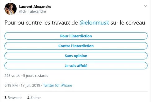 Laurent Alexandre pour ou contre Neuralink
