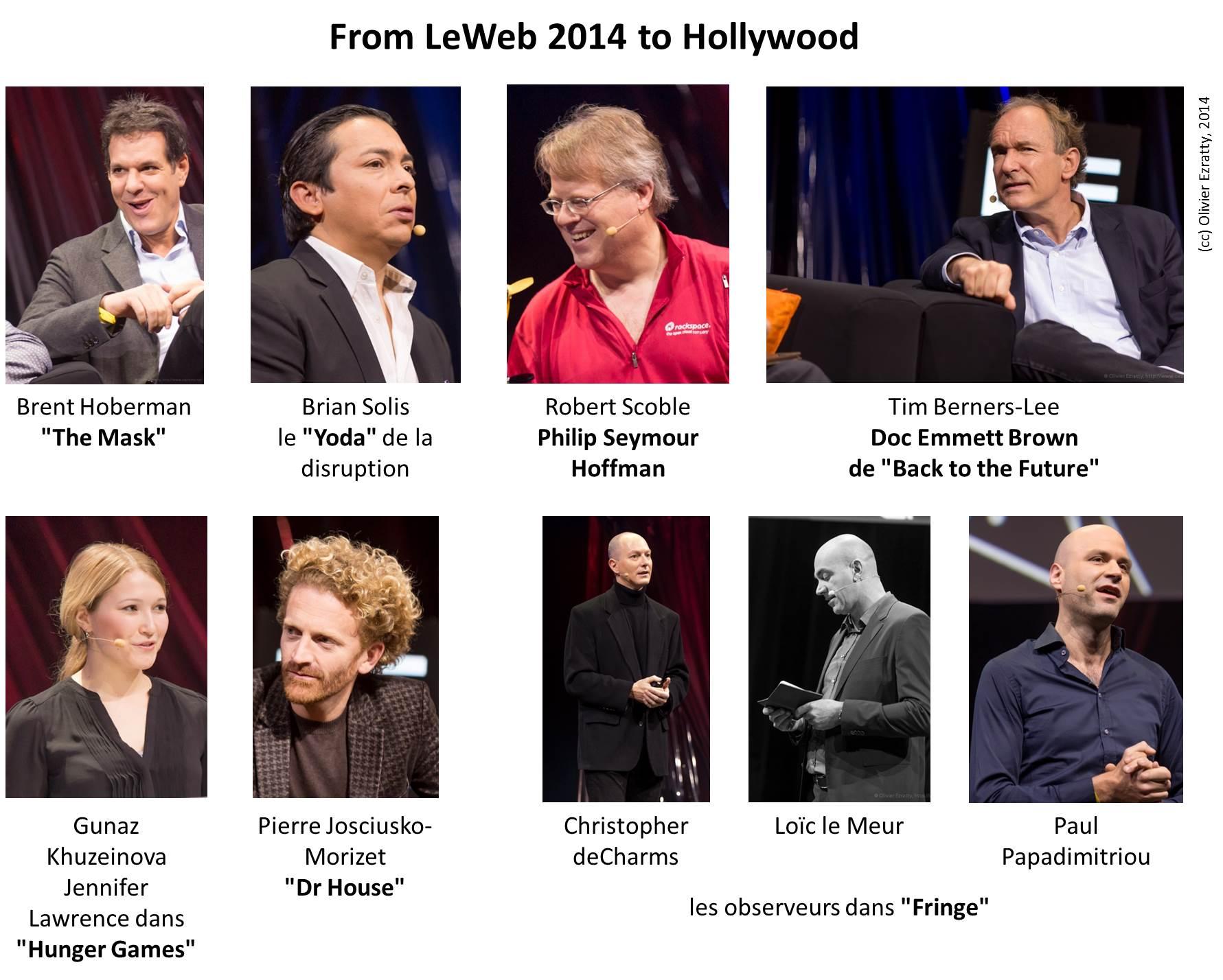 LeWeb 2014 to Hollywood Lookalikes