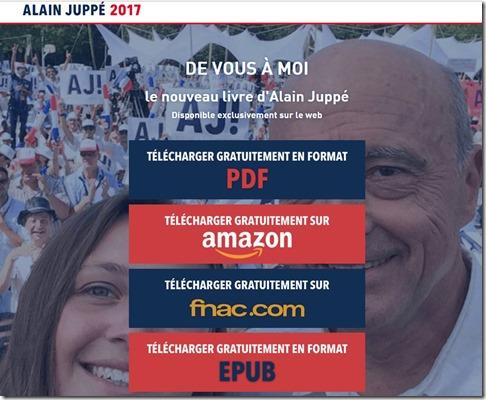 Livre Alain Juppé