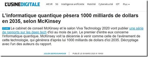 Marche quantique McKinsey
