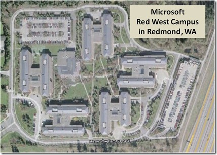 Microsoft Red West Campus Redmond