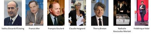 Ministres ingenieurs ou scientifiques