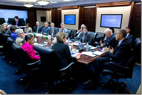 Obama in Situation Room (from White House Flickr account)