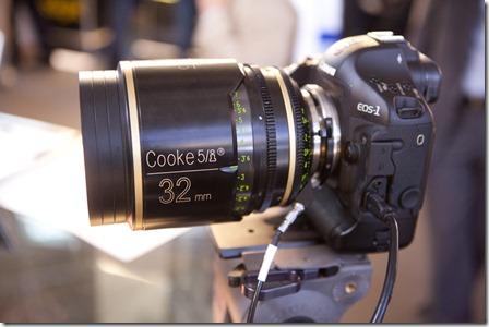 Objectif Cooke sur Canon 5D II