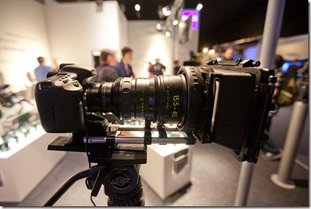 Objectif Zeiss pour Canon 5D II