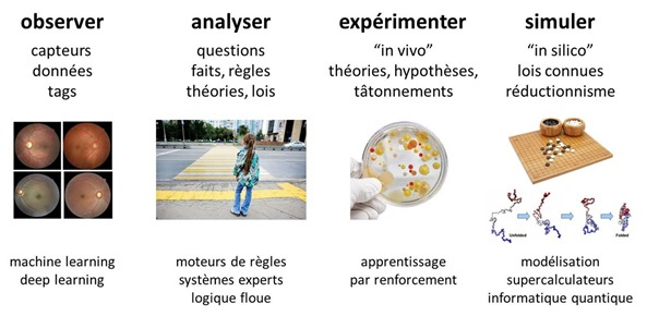 Observer Analyser Experimenter Simuler